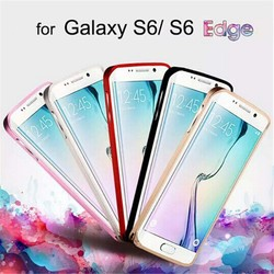 Metal Aluminum Case Cover For Samsung Galaxy S6 Edge, Mobile Phone Case Cover For S6 edge