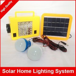 Solar Lighting System 5W 10W Solar Panel