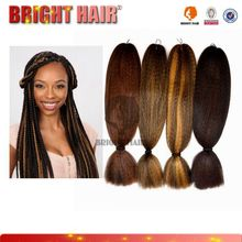 Hot sell Top quality Expression Braiding Hair/Kanekalon Synthetic Hair/Super Jumbo Braid
