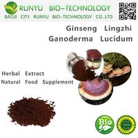 Lingzhi extract reishi mushroom spore powder herbal extract type ginseng lingzhi