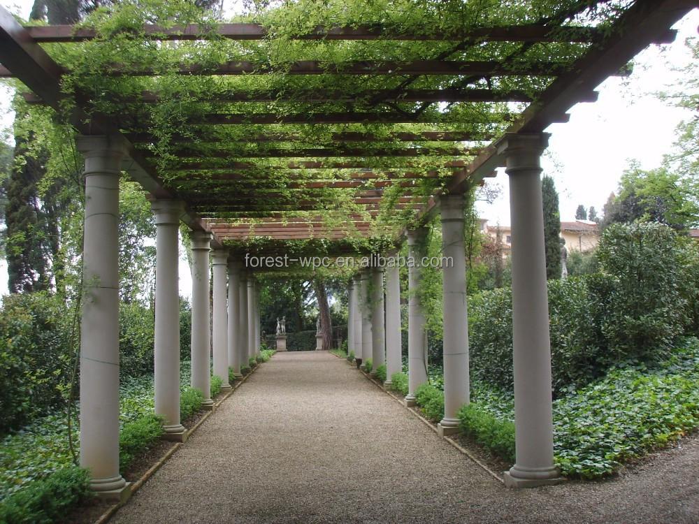 Kleine tuin tuin gazebo paviljoen prieel plat dak tuinhuisje bogen pergola 39 s pergola 39 s en - Kleine prieel ...