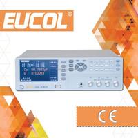 Eucol OEM Manufacturer of U2836 Digital LCR Meter with Test Frequency 50Hz-200kHz