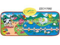 Kid plastic play mat ZZC117092