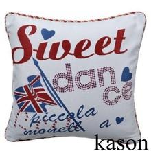sweet dance UK FLAG design outdoor rocking chair hotel throw pillow wholesale