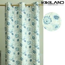 cortinas fabricante de telas vintage floral cortinas transparentes de la moda