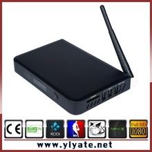 Metal Case T10 Amlogic S812 Quad Core Andriod 4.4 TV Box 2.0GHz Mali-450MP GPU 2GB RAM 8GB T10 TV BOX XBMC media player