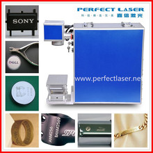steel ring electronics chips instrument fast speed 20w fiber laser marking machine for metals