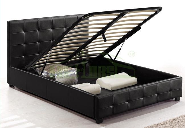 Queen Lift Storage Bed Photos