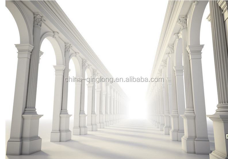Pin decorative columns roman fiberglass on pinterest for Fiberglass architectural columns