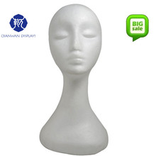 on sale China practice lady sexy foam mannequin head