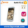 new android 4.4 bluetooth smart phone 5 inch capacity touch screen no brand mobile phone