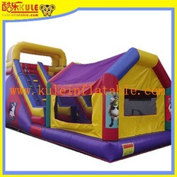 KULE giant inflatable bouncy with slide combo for kids/ jumping castle for sale