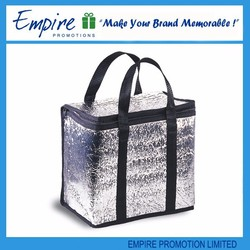 Custom promotional cooler bag for frozen food