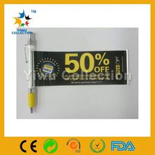 advertising plastic stand table ball pen ball pen for promotion