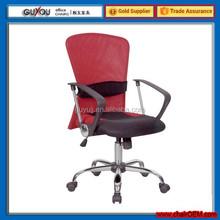 Y-1721 Ergonomic Hot Design Red+Black Pretty Fabric Office Chair Computer Chair Secretary Chair