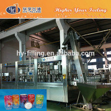 HY-Filling Plastic Can bottle Juice beverage filling sealing machine