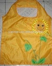 smiling face shopping bag