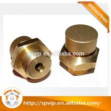 Fabricante de China latón piezas de precisión torneadas