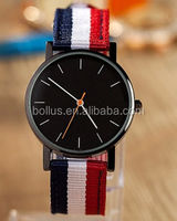 Hot sell simple design nylon band china replica watches