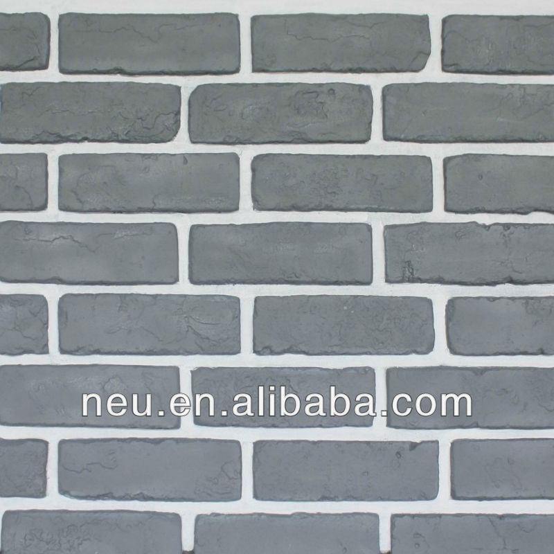 Pu faux face brick decorative wall brick wall panel with - Brick decorative wall panels ...