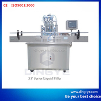 ZY series straight line automatic liquid filling machine