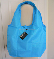 Eco polyester foldable tote bag with snap closure