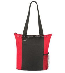 Custom Infinity Business Polyester Canvas Tote Bag Blank