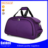 Women's fashion trolley travel bag customized logo elegant travel duffel bag foldable luggage suitcase distributors