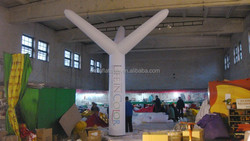 newstyle color changed LED lighting giant inflatable tree for advertising