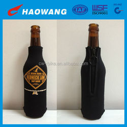 China Wholesale Christmas Neoprene Bottle Cover With Zipper