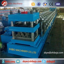 automatic traffic safety Highway guard rail press tile shaped cold roll making machine for sale