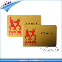 Printing Business member plastic card,vip plastic pvc card