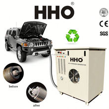 HHO3000 Car carbon cleaning open roof car