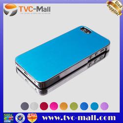 Wholesale Luxury Case for iPhone5,Luxury Electroplating Brushed Aluminium Case Cover for iPhone 5