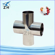 stainless steel cross 120 degree pipe fitting nps pipe fitting