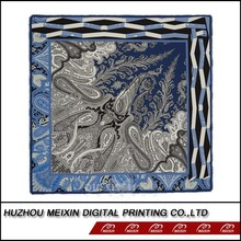 new styles fashion digital silk scarf printing fashion silk shawl stole scarf shawl