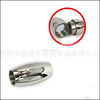 BXG011 2/3/4/5/6/7/8mm Stainless Steel Magnetic Clasp Oval Clasp for Jewelry Necklace Bracelet jewelry Finding