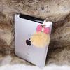 Pearl Bow& Rabbit Fur Ball 3.5mm Anti-Dust Ear Cap Plug For Cellphone
