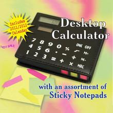 Desktop Memo Calculator With 150 Sheets Writing Pad