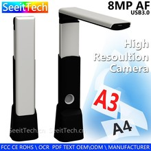 oem factory 8mp a4 high speed a3 portable document and photo scanner