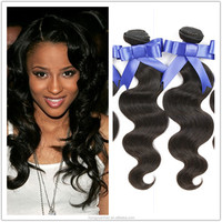 Sample Order Accept 100 Percent Real Tangle Free Brazilian Virgin Human Hair Weave