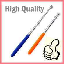 stainless steel telescopic hand held guide use flag pole