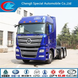 Foton tractor head truck 6X4 Auman Euro3 GTL foton tractor military armored tractor head truck