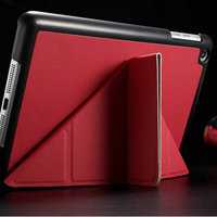 Shockproof multi shape slide style for Ipad mini leather case