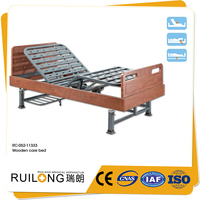 Wooden Headboard Long Term Home Health Care Beds