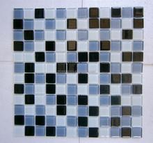 cheap crystal glass mosaic professional crystal glass mosaic tile grey and white mosaic tile