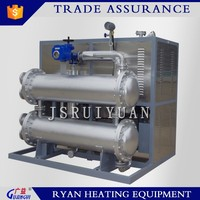 Textile and dyeing industrial used customized industrial electrical vertical thermal oil heater