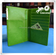 Promotional high quality Ticket Holder Cheque Holders PU PVC passport case customized faux leather passport cover