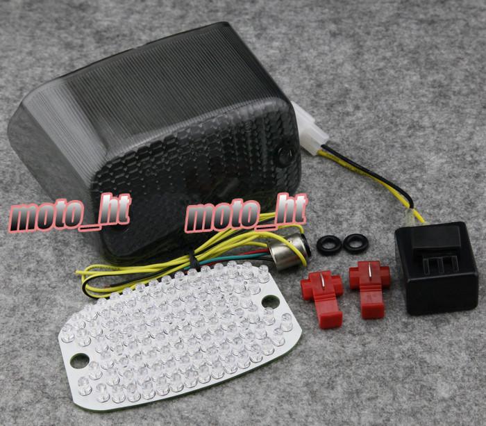 Купить Дым LED Задний Фонарь встроенными Сигналами Поворота Для YAMAHA VMAX Virago 700 750 1000 1100