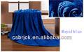 Bleu royal de corail d'ouatine lit./chaise./siège de voiture housse en tissu